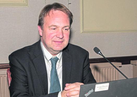 Golticlay Wind Farm public inquiry reporter, Robert Seaton. Photo: Robert MacDonald/Northern Studios.