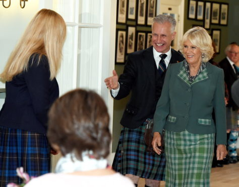 The Duchess of Rothesay paid a visit to the new Braemar Highland Games Pavillion - The Duke Of Rothesay Pavillion