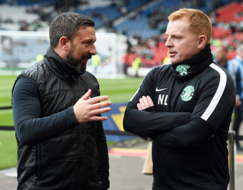 Derek McInnes is a fan of Hibernian boss Neil Lennon.