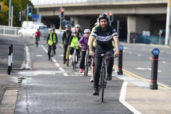 28 initiatives across Scotland have been awarded funding to encourage more people to take up cycling.