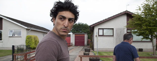 Sohrab Bayat in Bodkin Ras, the feature film set in Forres