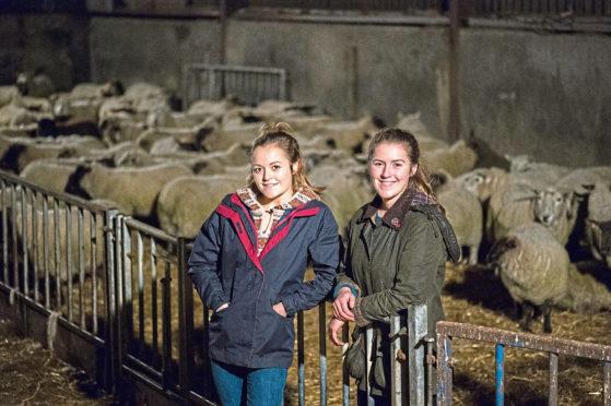 Aimee and Kirsty Budge of Bigton Farm, Shetland