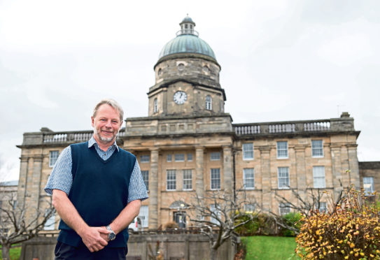 Dr Jamie Hogg, clinical director at Dr Gray's Hospital.