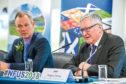 AgriScot chairman Robert Neill and Rural Economy Secretary Fergus Ewing.