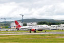 Virgin Atlantic at Aberdeen Airport.