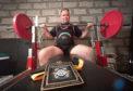 Aberlour powerlifter Neil Stewart.