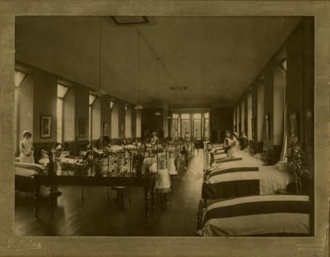 The welfare of children was paramount to health officials during WW1.
