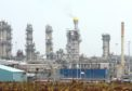 The demonstrator Acorn CCS project is located within the St Fergus gas terminal, near Peterhead