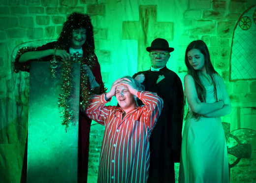 Church ministers from the past, present and future will visit the Cullen pantomime.