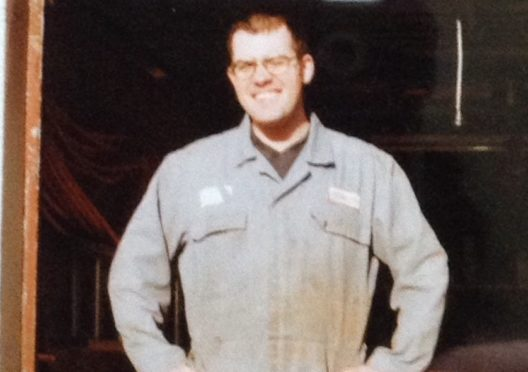 David Thomson was killed in a motorbike crash in 2003.