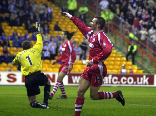 Darren Young had eight years with Aberdeen and is a former club captain.