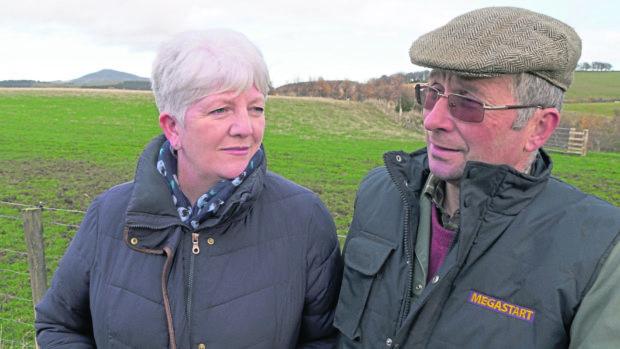 Fiona and Thomas Jackson.
