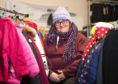 Debi Weir, chairwoman of Moray School Bank is looking for more donations of winter clothes