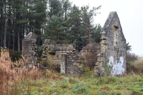 Millie Bothy ruins