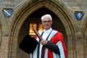 Former Chancellor of the Exchequer Alistair Darling, received an honorary degree.