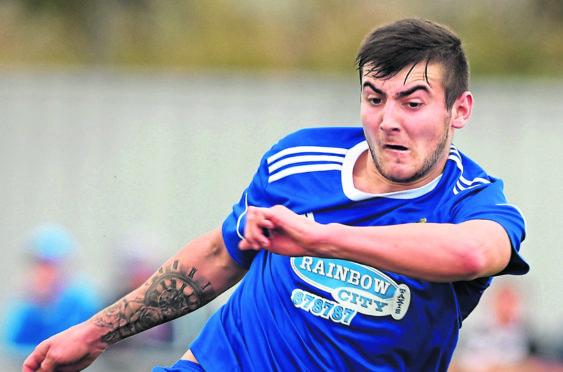 Jordan MacRae is hoping to get on the scoresheet against his former club, Nairn County.