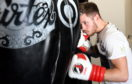 Aberdeen boxer Dean Sutherland.