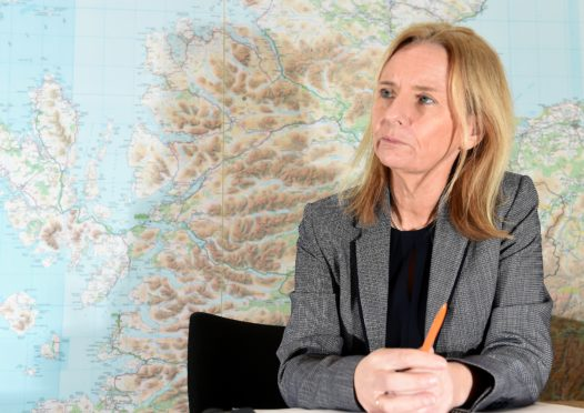 The new Highland Council chief executive Donna Manson. Picture by Sandy McCook.