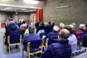 Turriff residents at the public meeting.