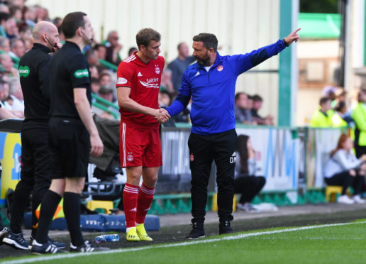 Derek McInnes reckons the platform is there for James Wilson to shine today.