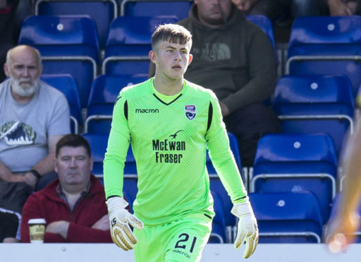 Ross County goalkeeper Ross Munro returned to the fold in place of regular number one Scott Fox