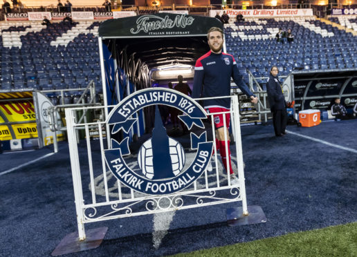 Marcus Fraser was on the bench for Ross County against Falkirk on Tuesday.