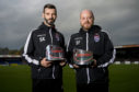 Ross County co-managers Stuart Kettlewell and Steven Ferguson.