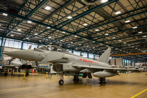 Typhoons have been operated by the RAF since 2007.