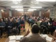 One of the many community meetings that have been held across the Garioch area. Picture taken at Keithhall.