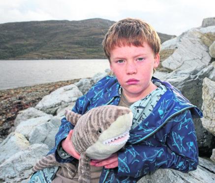 Finlay Pringle, 11, from Ullapool.