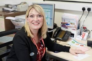 Kirsteen Coady, nurse at Macduff Medical Practice, awarded the title of Queen's Nurse alongside offshore medic Bob Gardiner
