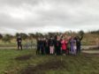 Children Portlethen and Hillside Primary schools celebrate their work