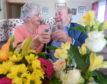 Diamond days, Betty and Bill Abernethy from Inverbervie celebrate their Diamond Wedding anniversary. Pic by Chris Sumner Taken 15/11/18