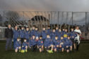 Juniors members of Stornoway Rugby Football Club  bear new kit thanks to generous donation of £3,000 from Point and Sandwick Trust.