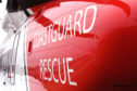 A coastguard rescue helicopter was utilised in the search