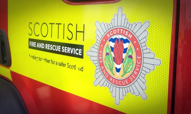 Van destroyed by fire in Inverness | Press and Journal