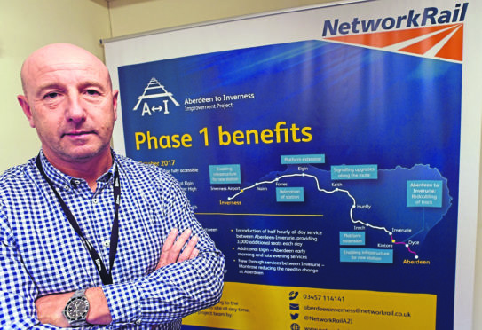 Network Rail Senior Project Manager Billy McKay