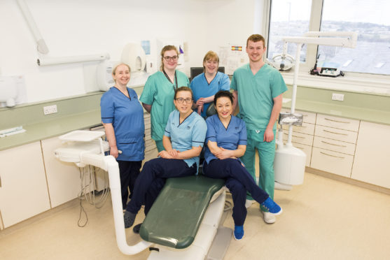 NHS Western Isles Dental Centre staff.