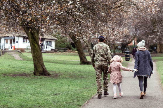 A new survey reveals the difficulties faced by armed forces personnel at Christmas.