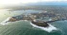 Peterhead port.