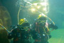 sUBJECT: MORE PIX OF  Diver training at The Underwater Centre, Fort William           Susan: more choice for p39