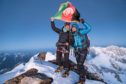 Hanifa Yousoufi, left, has become the first Afghan female to scale the nations tallest mountain Noshaq