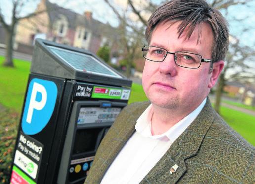 Highland Councillor Andrew Baxter.