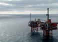 Chevron's North Sea Captain platforms.