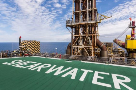 The scheme will see gas produced at Shearwater rerouted to the St Fergus terminal