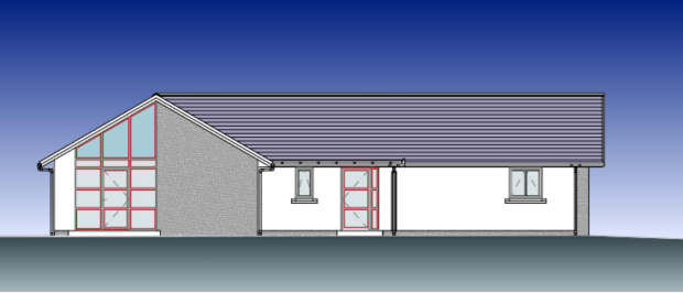 Artist's impression of the new care centre
