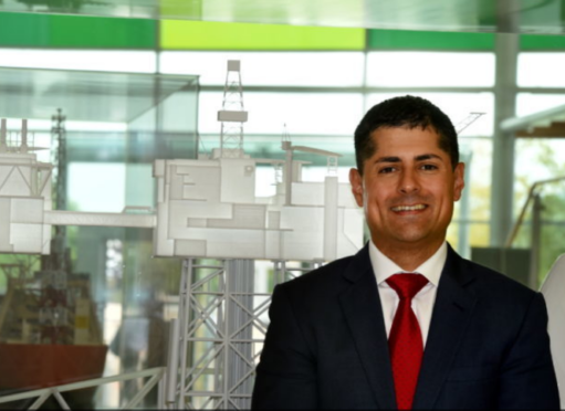 BP's North Sea president Ariel Flores .