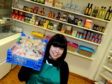 Community worker Claire Whyte is hoping the pantry will prove popular