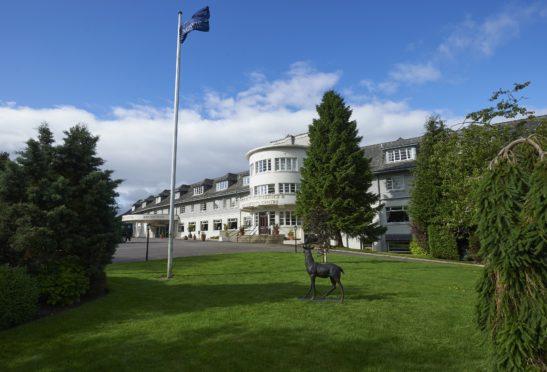 Drumossie Hotel, Inverness.