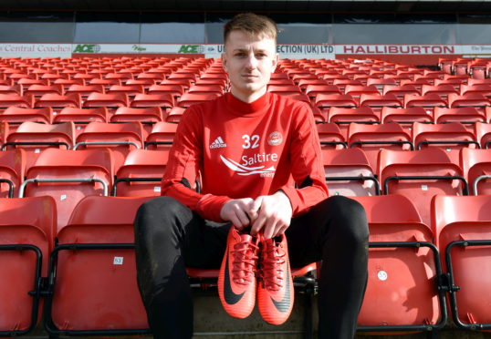 Aberdeen youngster Sam Roscoe is on loan at Alloa Athletic.